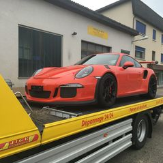 Transport Porsche GT3RS