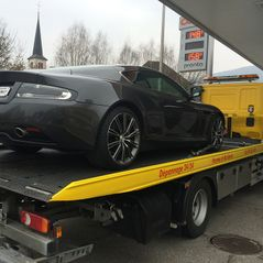 Transport Aston Martin