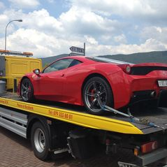 Transport Ferrari 458 Italia